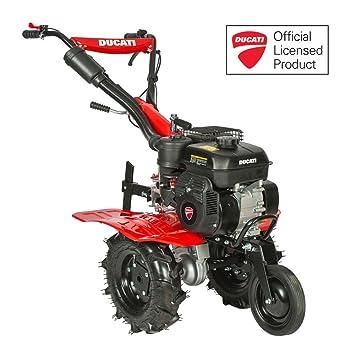 Motoazada de 212cc 7 HP Ducati DTL7000 incluye ruedas agrícolas y fresas: Amazon.es: Jardín