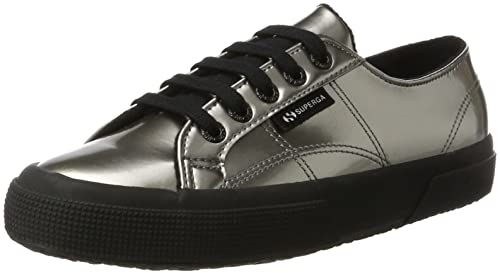 Superga 2750Varnishmirrorw Sneaker a Collo Basso Donna Grey Silver 39
