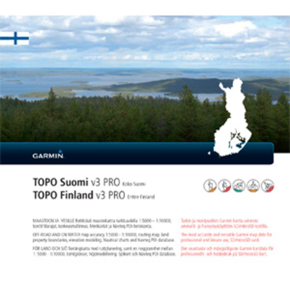 Garmin Topo Finnland v3 PRO MicroSD/SD
