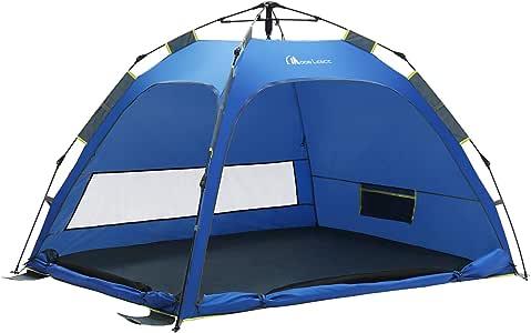 Amazon Com Moon Lence Beach Tent Automatic Pop Up Sun