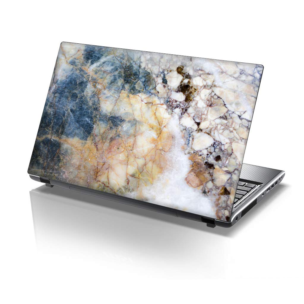 TaylorHe 13-14 inch Laptop Skin Vinyl Decal with Colorful Patterns and Leather Effect Laminate MADE IN BRITAIN work like a boss
