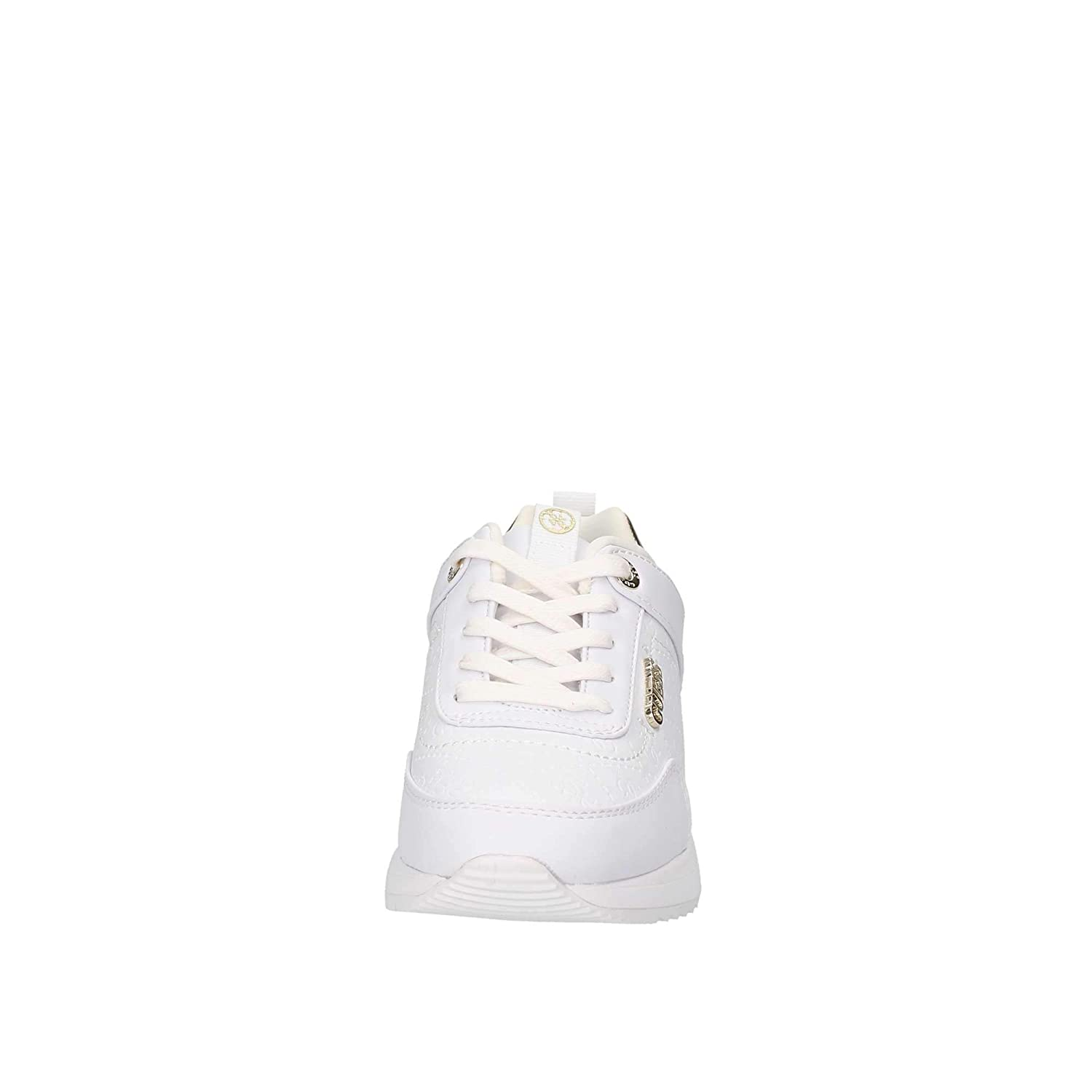 Fal12Baskets Fl5mrl White Blanches Pour GuessMarlyn Femmes nyN0w8Ovm