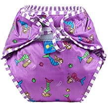 Kushies Baby Unisex Swim Diaper - X-Large,Mermaids Print,X-Large,