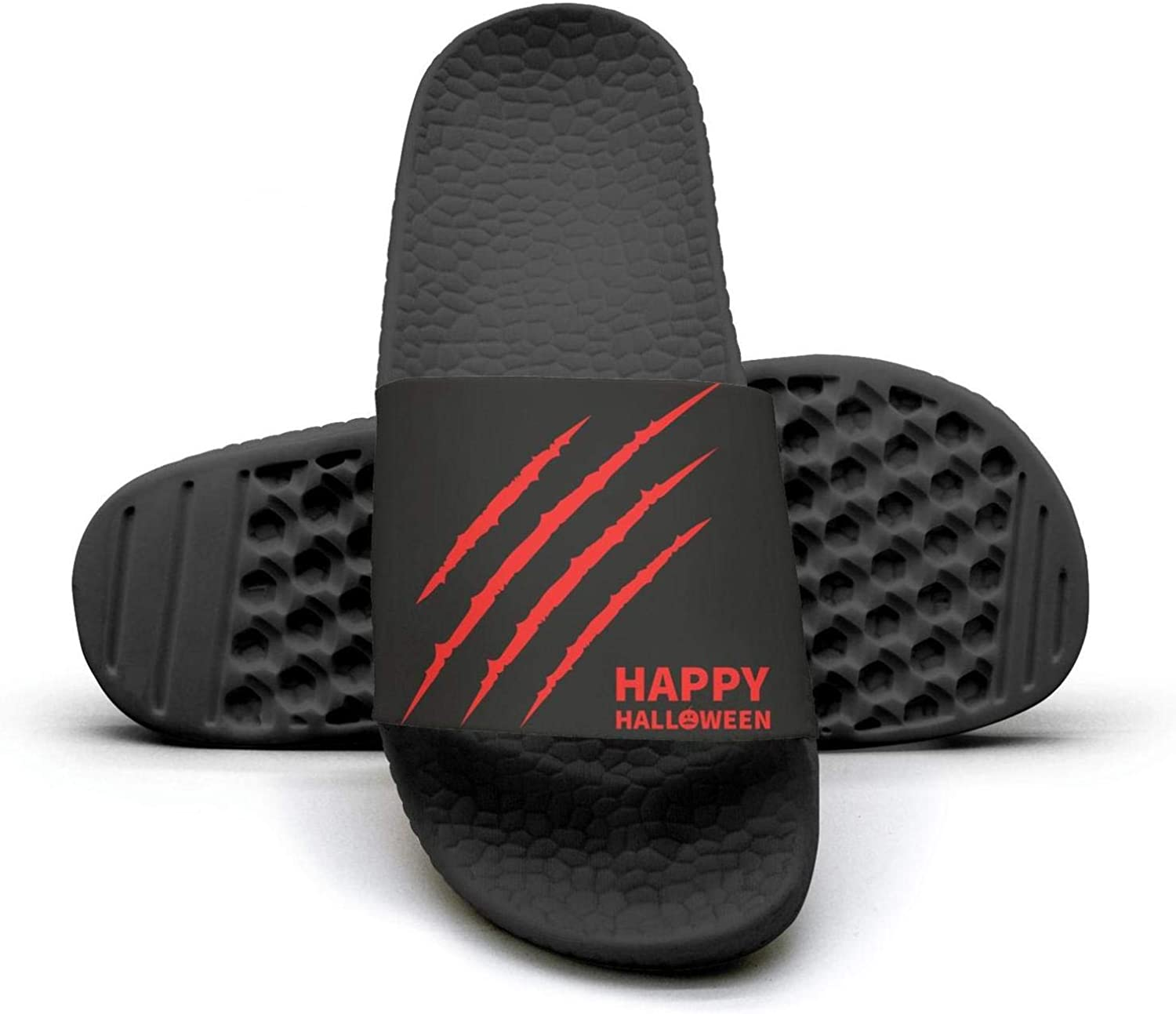 Halloween party supplies Hand catching blood Mens Outdoor Home Slides Performance Flip Flop Fashionable Sandals