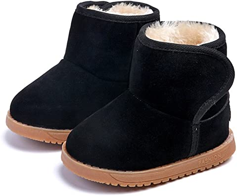Winter Warm Fur Boots for Toddler Boy