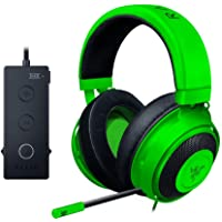Razer Kraken Tournament Edition THX Over-Ear 3.5mm Wired Gaming Headphones (Green)