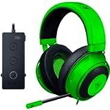 Razer Kraken Tournament Edition THX 7.1 Surround Sound Gaming Headset: Retractable Noise Cancelling Mic - USB DAC - For…