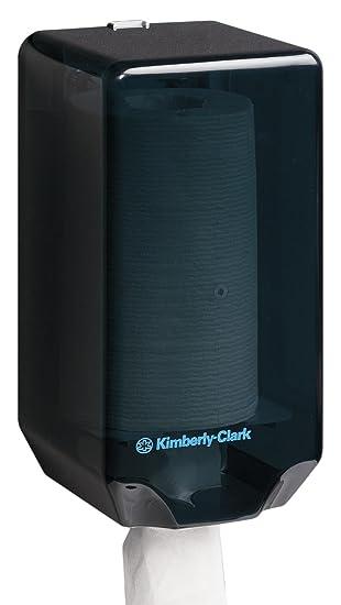 KIMBERLY-CLARK PROFESSIONAL* Dispensador de Paños Central (código 7905) - Negro: Amazon.es: Industria, empresas y ciencia