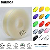 3Dプリンター用 フィラメント PLA DARCOS 1.75mm径 1kg 17色選択可 (透明)
