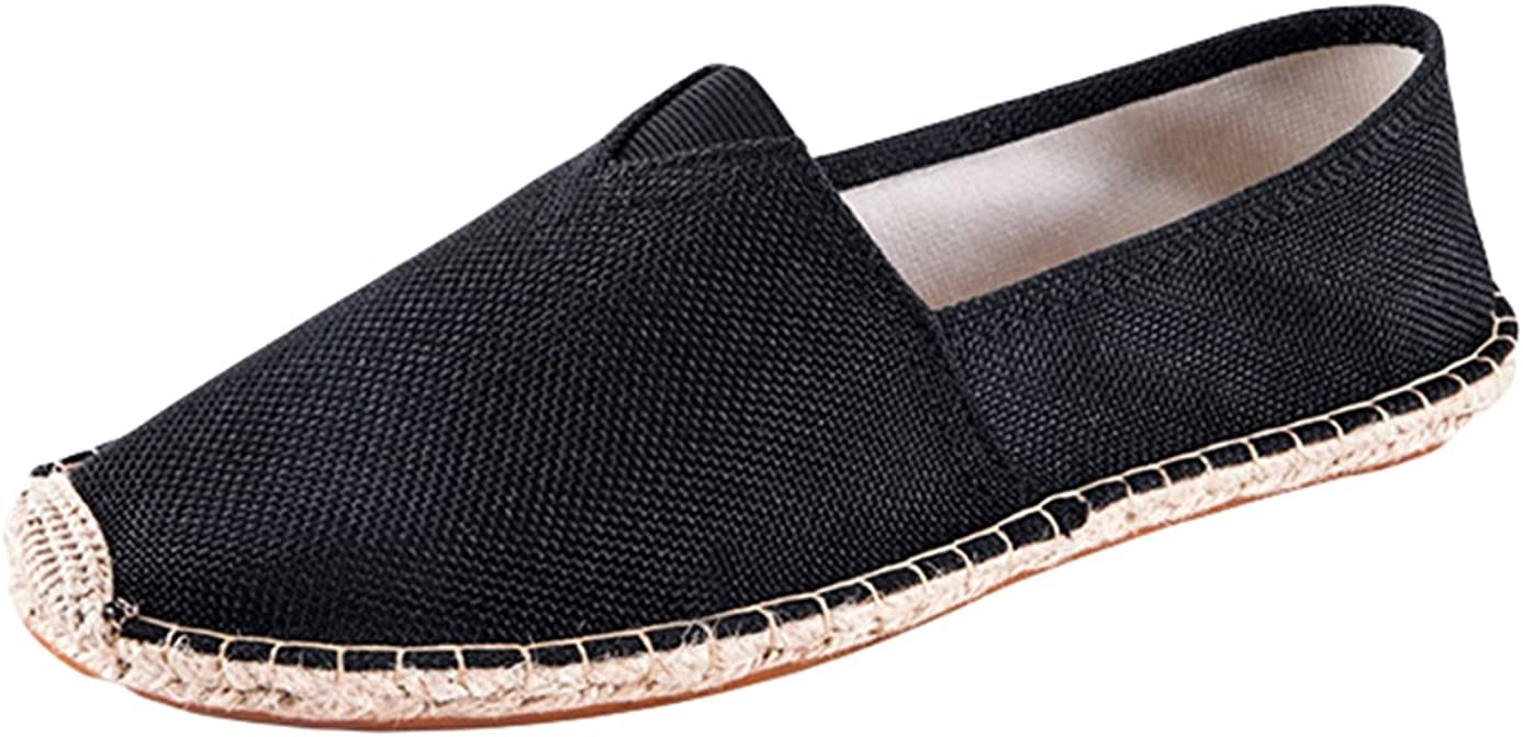 Insun Mens Sneaker Casual Fashion Loafer Slip On Espadrille Leather Shoes