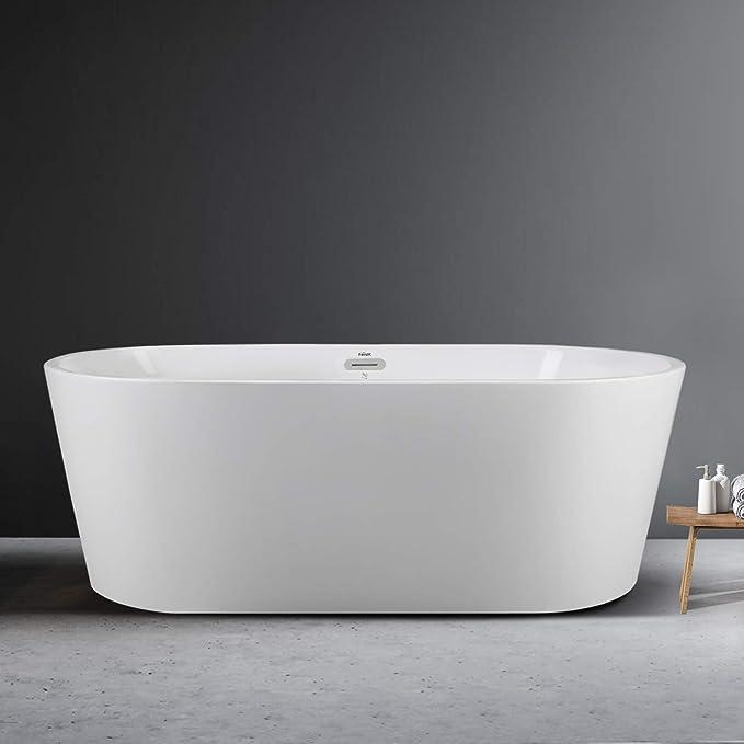 1. FerdY Acrylic Freestanding Bathtub