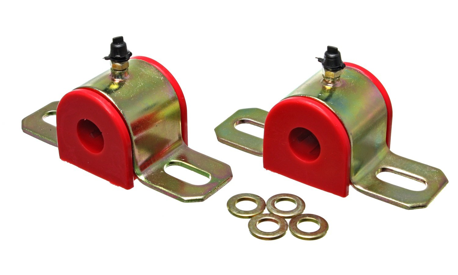 Energy Suspension 9.5152R 1/2'' Greaseable Universal Sway Bar Set
