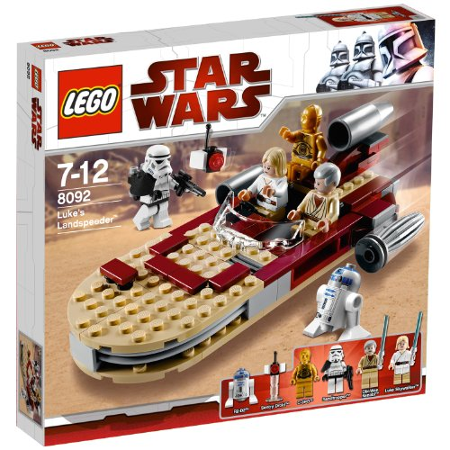 Lego 8092 - Jeu de construction - Star Wars - Luke's Landspeeder