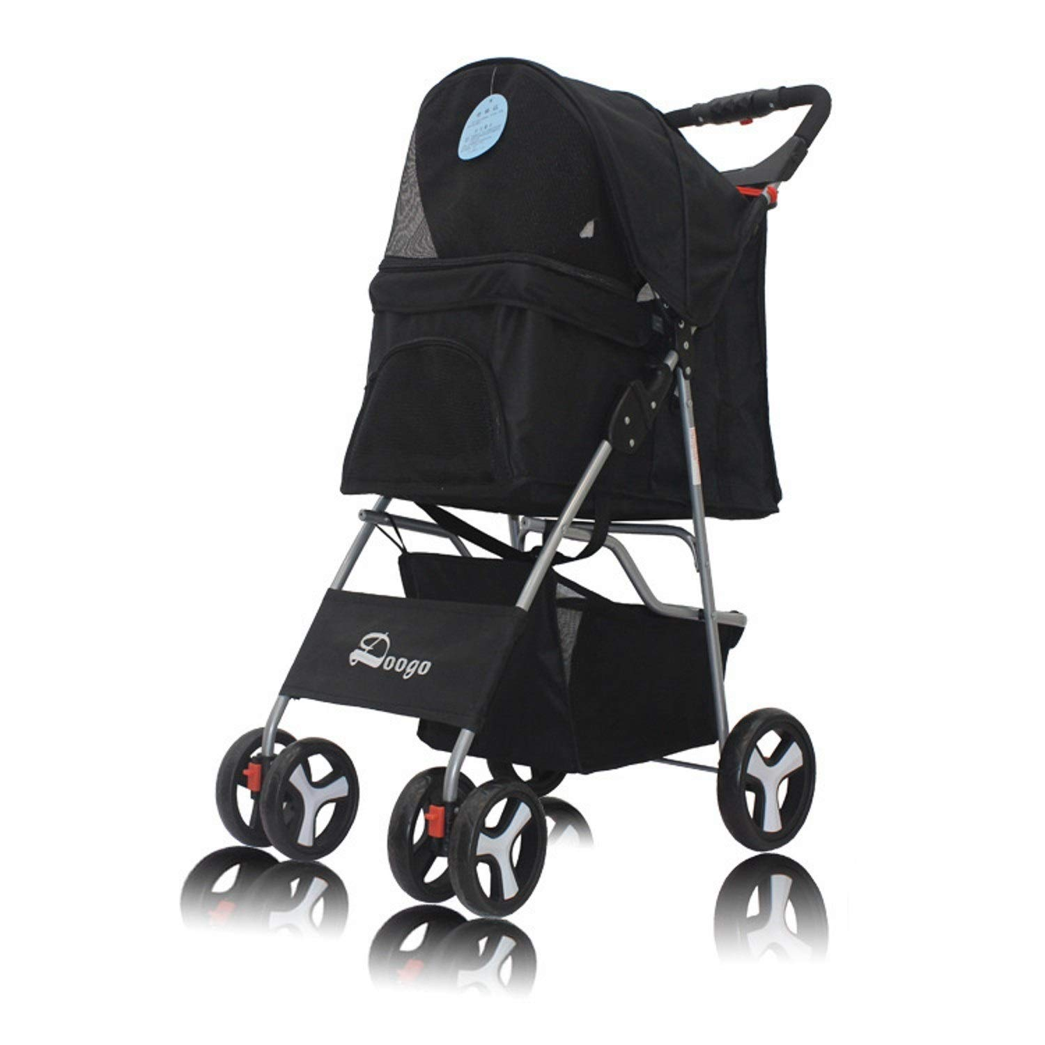 C TLMY Lightweight Pet Stroller, Dog Stroller Four-wheeled Pet Car Pet car seat (color   C)