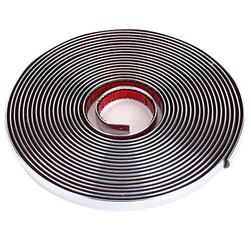 CLE DE TOUS- 8 Metros Cinta Adhesiva Cromado Decoración Embellecedor AutoAdhesivo para Coche Decorar Interior Exterior DIY (Ancho 12mm): Amazon.es: Coche y ...