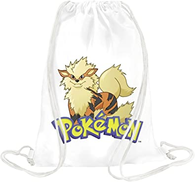 cf9404945773 Arcanine Pokemon Drawstring bag  Amazon.co.uk  Shoes   Bags