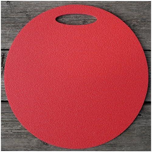 Coussin en mousse Siège Sous-main avec poignée rouge 35cm