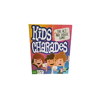 Outset Media Kids Charades Game: Toys & Games