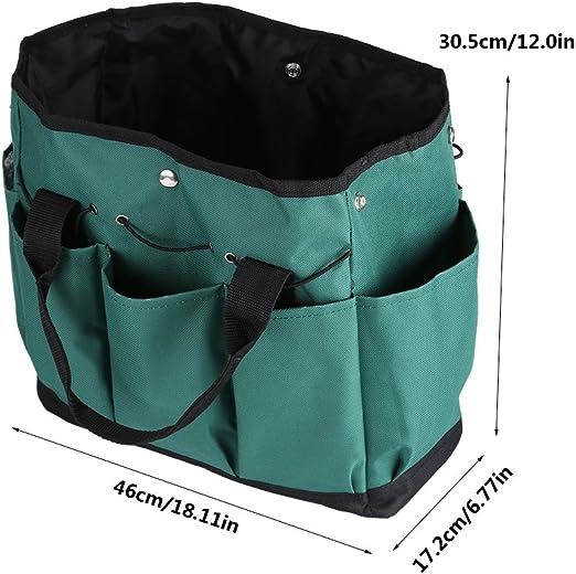 Multifunction Garden Tool Bag Organizer Hardware Bag,600D Oxford Zerodis
