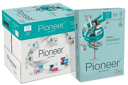 PIONEER - Papel premium para impresora 2500 folios 75 g/m2 ...
