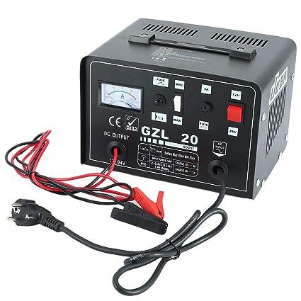 Auto Cargador de batería - Amarillo atterie 12 V/24 V 12 A ...
