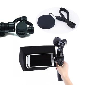 """Rantow Accesorios de reemplazo de cámara de cardán Osmo Handheld, Trípode extensible / 5.5 """""""