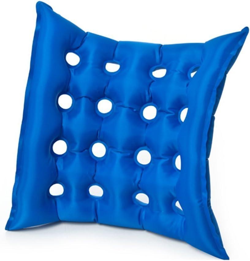 Luftaufblasbares Premium Sitzkissen Hitzeversiegelte Konstruktion Für Strapazierfähigkeit Kissen Für Rollstuhl Und Täglichen Gebrauch Ideal Für Langes Sitzen Fda Genehmigt Drogerie Körperpflege