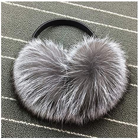 Duet Dance Dancer Sports Performance Winter Earmuffs Ear Warmers Faux Fur Foldable Plush Outdoor Gift