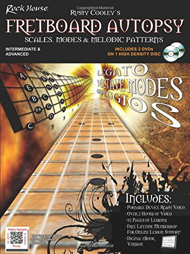 The Rock House Method Presents Fretboard Autopsy: Scales, Modes & Melodic Patterns