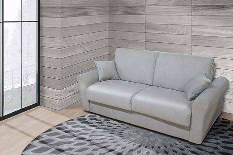 Letto Con Portacuscini : Gamma s a s divano letto posti con porta cuscini amazon