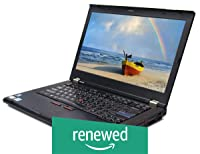 (Renewed) Lenovo ThinkPad T420 14.1-inch Laptop (2nd Gen Intel Core i5/4GB/320GB/Windows 10/Integrated Graphics), Black