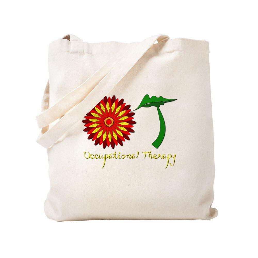 8c8ecab6aafb Amazon.com  CafePress - Flower Power OT - Natural Canvas Tote Bag ...
