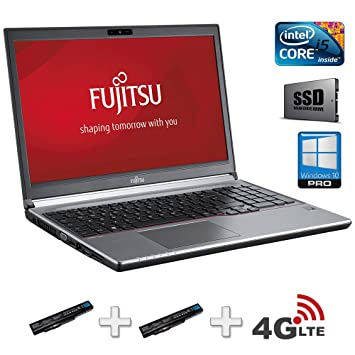 "Fujitsu LIFEBOOK E753 2.6GHz i5-3230M 15.6"" 1920 x 1080Pixeles 3G Plata -"