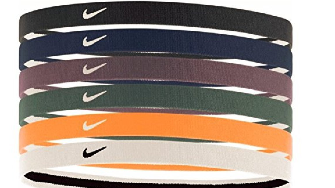 Nike Printed Headbands Assorted (Black/Obsidian)