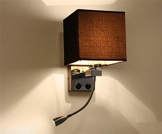 E27 stile europeo moderna elegante tessuto paralume lampada da