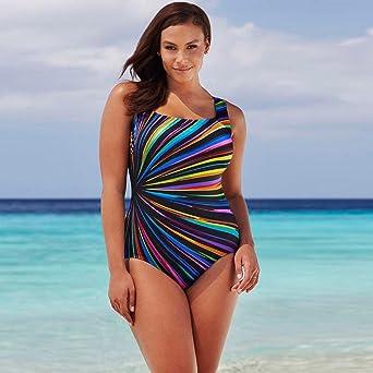 edf6381ec7 Women Swimwear,Womens Swimming Costume Padded Swimsuit Monokini Swimwear  Push Up Bikini Sets (L, Multicolor): Amazon.co.uk: Business, Industry &  Science