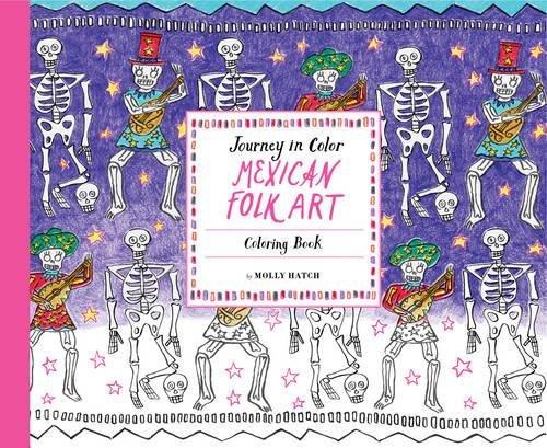 xican Folk Art: Coloring Book (Mexican Folk Art Designs)