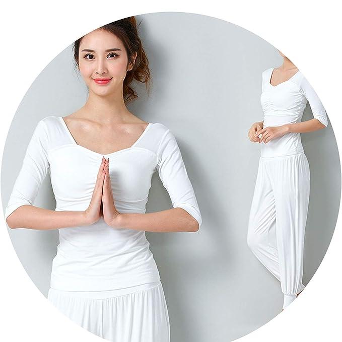 Amazon.com: 2019 - Conjunto de yoga para mujer, sexy ...