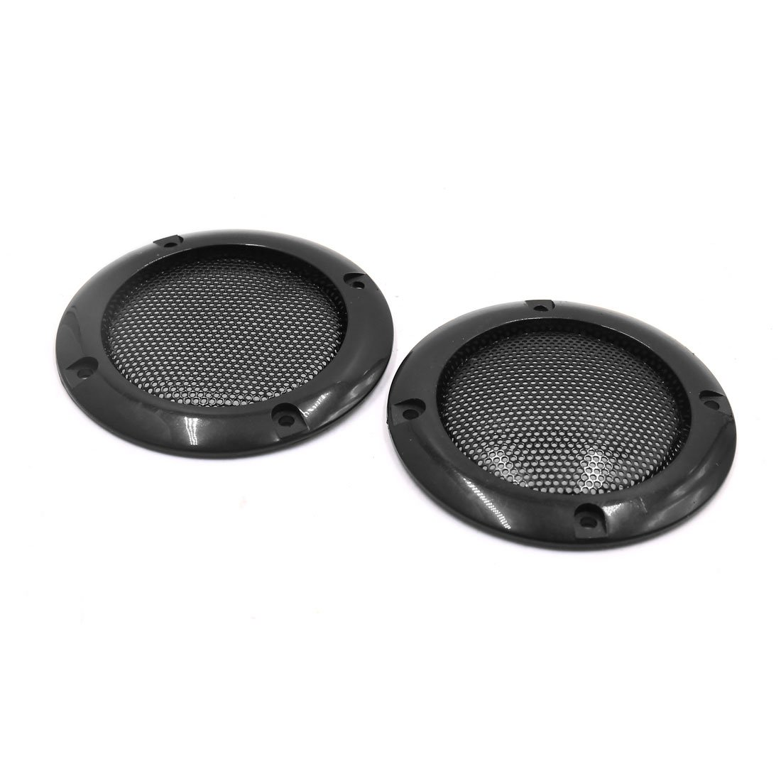sourcingmap 2pcs 2inch Mesh Car Stereo Speaker Subwoofer Cover Protect Grill