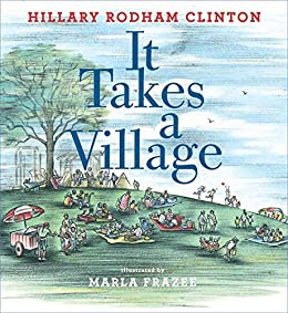 It Takes A Village Picture Book With Audio Recording