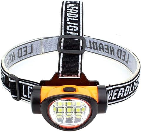 Am-Tech Lampe frontale ultra lumineuse 32 LEDs