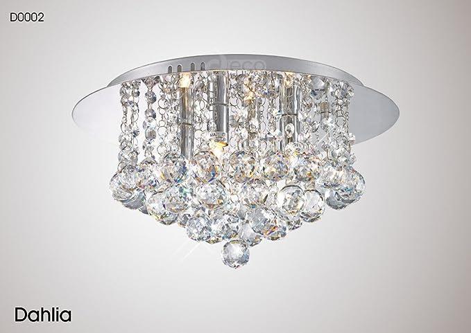 dahlia 4-light chandelier