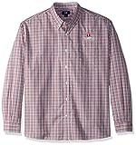 Cutter & Buck NCAA Men's Long Sleeve Gilman Plaid Shirt