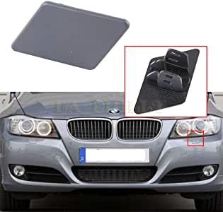 Plzlm Reemplazo 1 par Izquierda Derecha para BMW 318i 320i del Parachoques Delantero LAVAFAROS Boquilla Tapa 61677203495 61677203496