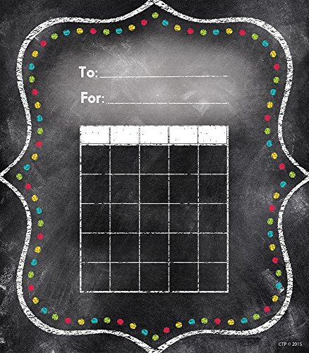 Creative Teaching Press Charming Dots Student Incentive Chart, Black (1301)