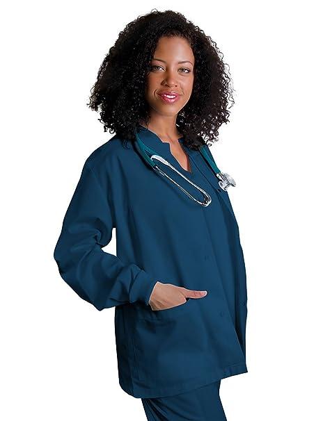 Adar Uniforms Abrigo Laboral Médico Para Mujeres, Enfermeras y Doctoras - 602 Color CBB |