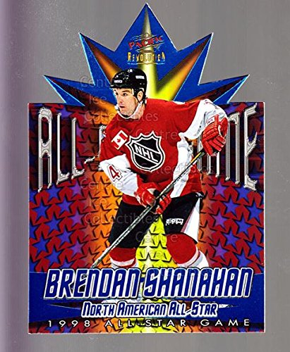 1997 Nhl All Star Game ((CI) Brendan Shanahan Hockey Card 1997-98 Revolution 1998 AS Game Die-Cuts 11 Brendan Shanahan)