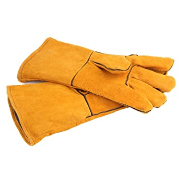 PAUG Camping Flame & Heat Resistant Gloves, Bbq gloves, Grill ...