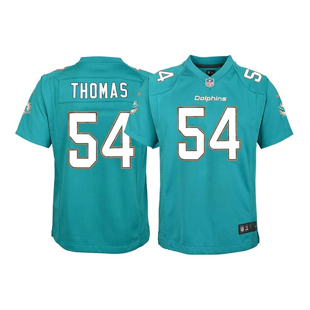 Nike Zach Thomas Miami Dolphins NFL Youth Teal Home Game Jersey