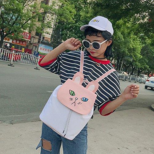 Gespout - Bolso mochila  para mujer Conejo talla única oso